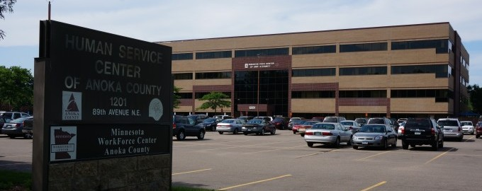 Achieve Services, Inc. inside the Anoka County Human Services Center