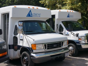 Achieve Services, Inc. provides vans.