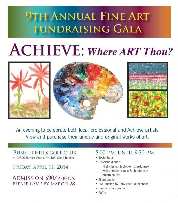 Achieve Where Art Thou? Spring Fundraiser Gala