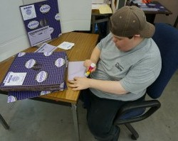 Matt Grieser - Assembling Boxes - Achieve Services, Inc.