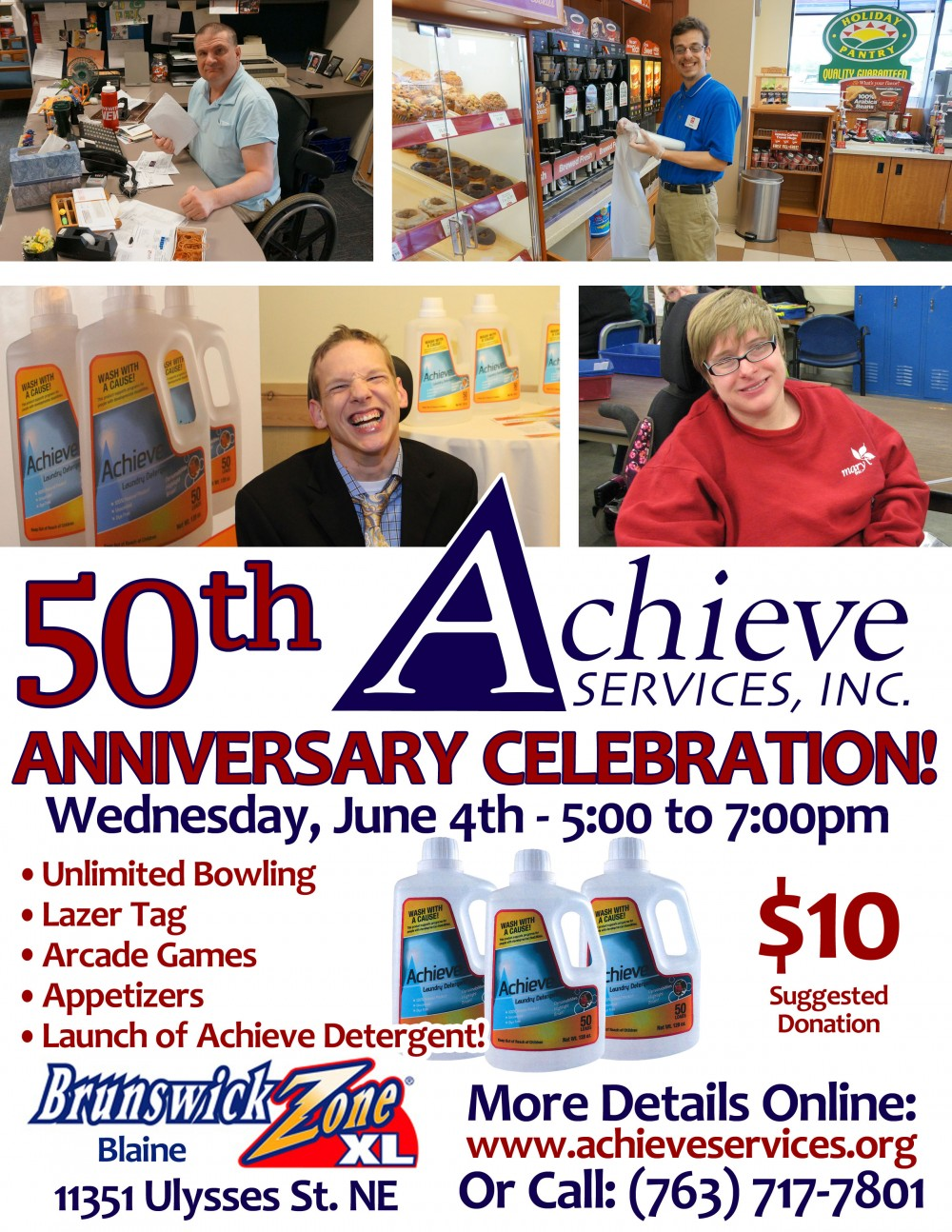 Achieve Services 50th Anniversary Celebration